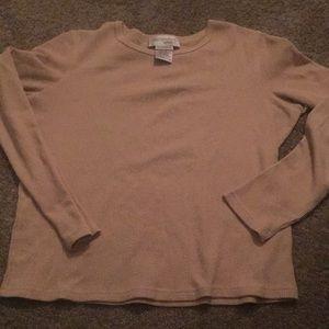 RealComfort Yellow Long Sleeve Shirt